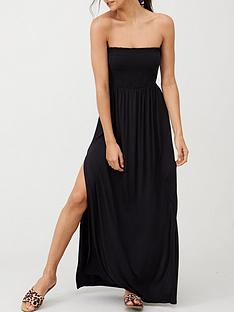 v-by-very-bandeau-maxi-dress-black