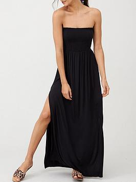 V by Very V By Very Bandeau Maxi Dress - Black Picture