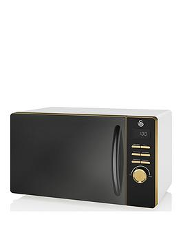 swan-swan-gatsby-range-23-litre-digital-microwave-whitegold
