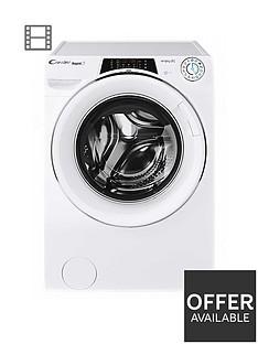 candy-rapidonbsprow14956dwhc-9kgnbsp1400-spin-washer-dryernbsp--whitechrome-door