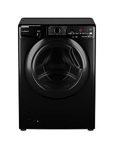 hoover-dwoad610ahf7b-80-10kgnbspload-1600-spin-washing-machine-blacktinted-door