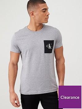 calvin-klein-jeans-monogram-pocket-slim-t-shirt-mid-grey-heather