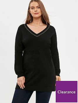 evans-chain-trim-tunic-black