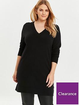 evans-basic-knitted-tunic-black