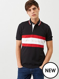 tommy-hilfiger-iconic-regular-fit-polo-shirt-black