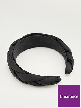 mango-braided-hairbandnbsp--black