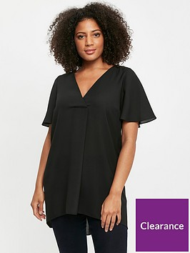 evans-drape-cross-front-top-black