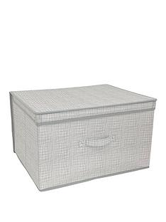 linen-look-jumbo-storage-chest-grey