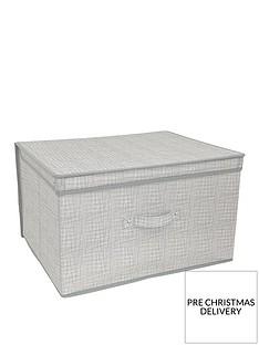 linen-look-jumbo-storage-chest-grey