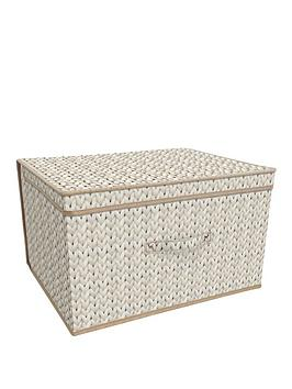 Very Jumbo Storage Chest - Natural Knit Picture