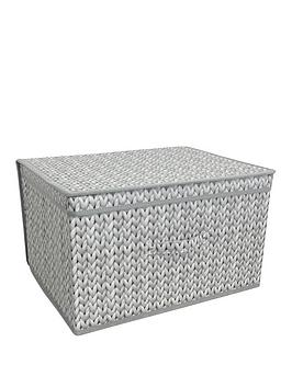 Very Jumbo Storage Chest - Knit Picture