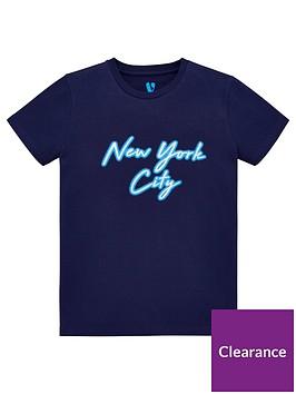v-by-very-boys-foil-new-york-city-t-shirt-navy