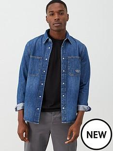 calvin-klein-jeans-iconic-long-sleeved-denim-shirt-bright-blue