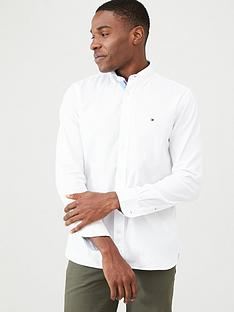 tommy-hilfiger-classic-twill-long-sleeved-shirt-white