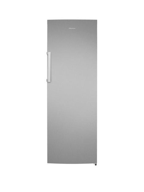 hisense-premium-larder-fridge-withnbspelectronic-control-and-led-indicator-stainless-steel