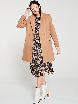 Oasis Oasis London Tailored Coat - Tan Picture