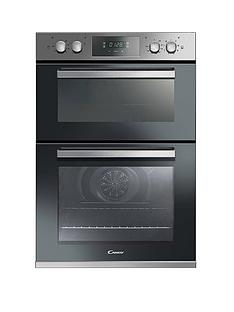 candy-candy-fc9d815x-90cm-built-in-multifunction-double-oven-with-optional-installation--stainless-steel