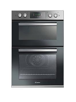 Candy   Fc9D815X 90Cm Built In Multifunction Double Oven,  - Oven Only