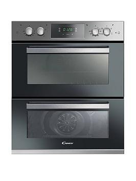 Candy   Fc7D415X Built Under 72Cm Fan Double Oven  - Oven Only