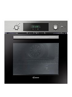 candy-fcpk618sxe-built-in-60cm-multifunction-single-oven-with-optional-installationnbsp--stainless-steel