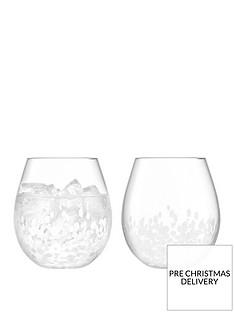 lsa-international-stipple-tumbler-glasses-ndash-set-of-2