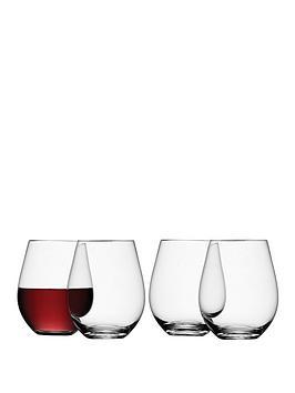 lsa-international-wine-collection-handmade-stemless-red-wine-glasses