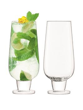 lsa-international-rum-handmade-mixer-glasses-ndash-set-of-2