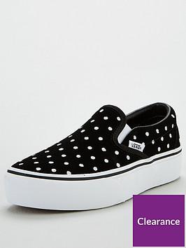 vans-vans-classic-suede-polka-dot-slip-on-platform