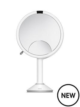 sensor-mirror-trio-white-stainless-steel