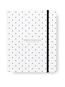 kate spade new york  Kate Spade New York Baby Planner, Black Dot (Expecting You)