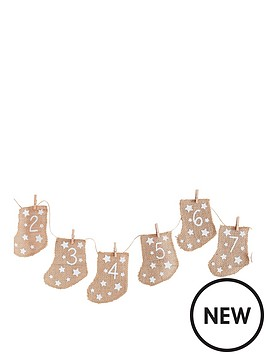 ginger-ray-ginger-ray-let-it-snow-hessian-advent-stockings