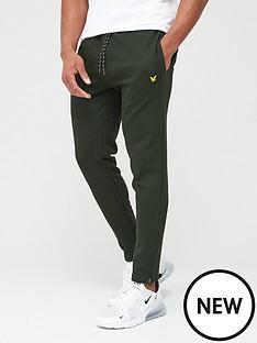 lyle-scott-fitness-core-zip-track-pants-deep-spruce-green