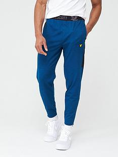 lyle-scott-fitness-colour-breaker-track-pants-navy-blue-marl