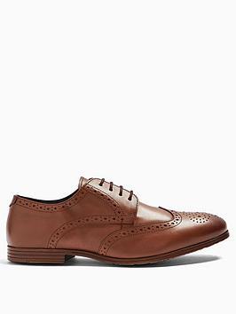 topman-topman-ollie-leather-brogue-shoes-tan