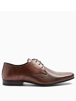 Topman Topman Topman Bright Leather Formal Shoes - Brown Picture
