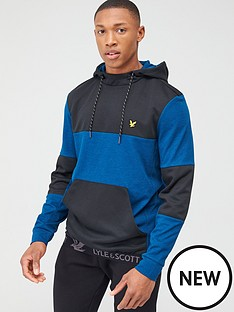 lyle-scott-fitness-colour-breaker-mid-layer-hoodie-blue-marl