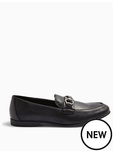 topman-topman-arlo-snaffle-loafers-black