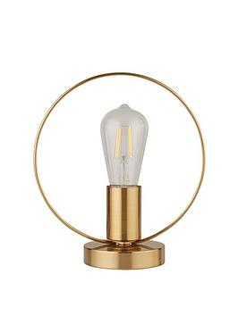 Very Cruz Hoop Table Lamp With Bulb Picture