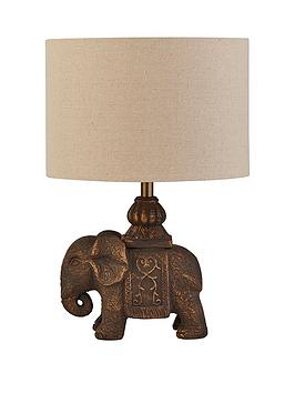 Very Elephant Ceramic Table Lamp Picture