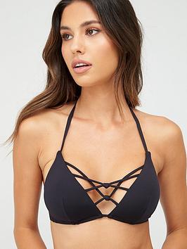 Dorina Dorina St Barts Triangle Bikini Top - Black Picture