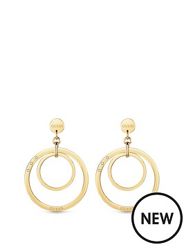 guess-guess-gold-tone-logo-circles-hoop-earrings