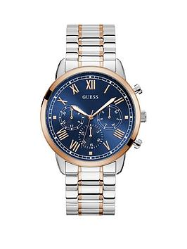 guess-guess-blue-sunray-and-rose-gold-detail-chronograph-dial-two-tone-stainless-steel-bracelet-mens-watch