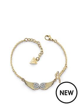 guess-guess-gold-tone-angel-wings-logo-bracelet