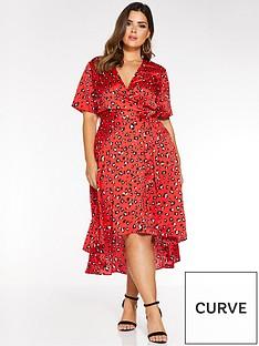 quiz-quiz-curve-satin-wrap-leopard-print-wrap-dress
