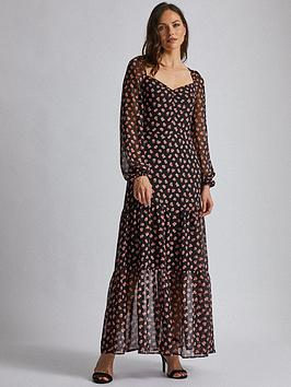 dorothy-perkins-dorothy-perkins-tiered-maxi-dress-black
