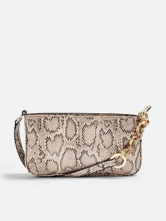 topshop-topshop-spin-snake-print-mini-shoulder-bag-natural
