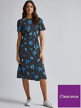 dorothy-perkins-dorothy-perkins-pleated-floral-dress-blue