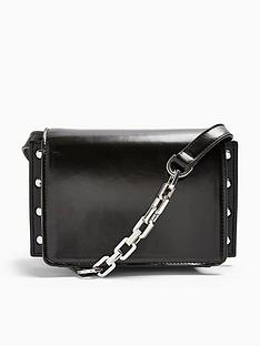 topshop-casady-chain-detail-cross-body-bag-black