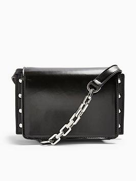 topshop-casady-chain-detail-cross-body-bag-black