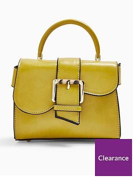 topshop-topshop-minny-buckle-mini-bag-chartreuse